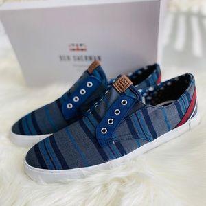 NEW BEN SHERMAN Percy Laceless Slip-On Sneaker, 12